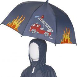 parasol strażak parasol dla dzieci, parasol dla chłopca, parasol strażak