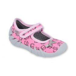 Befado balerinki różowe kotki do żłobka