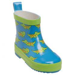 Playshoes kalosze miekkie kauczukowe lekkie krokodyl krótkie dla maluszków