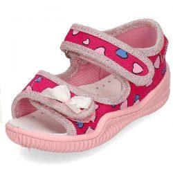 Viggami sandałki różowe dla dziewczynki