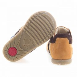 emel roczki emelki dla chłopca musztardowe buciki pierwsze buty dla chłopca buciki dzieciece obuwie dla dzieci emel