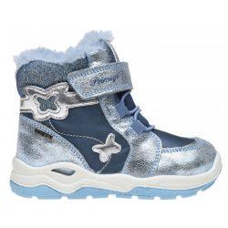 śniegowce primigi brokat srebrne dla dziewczynki